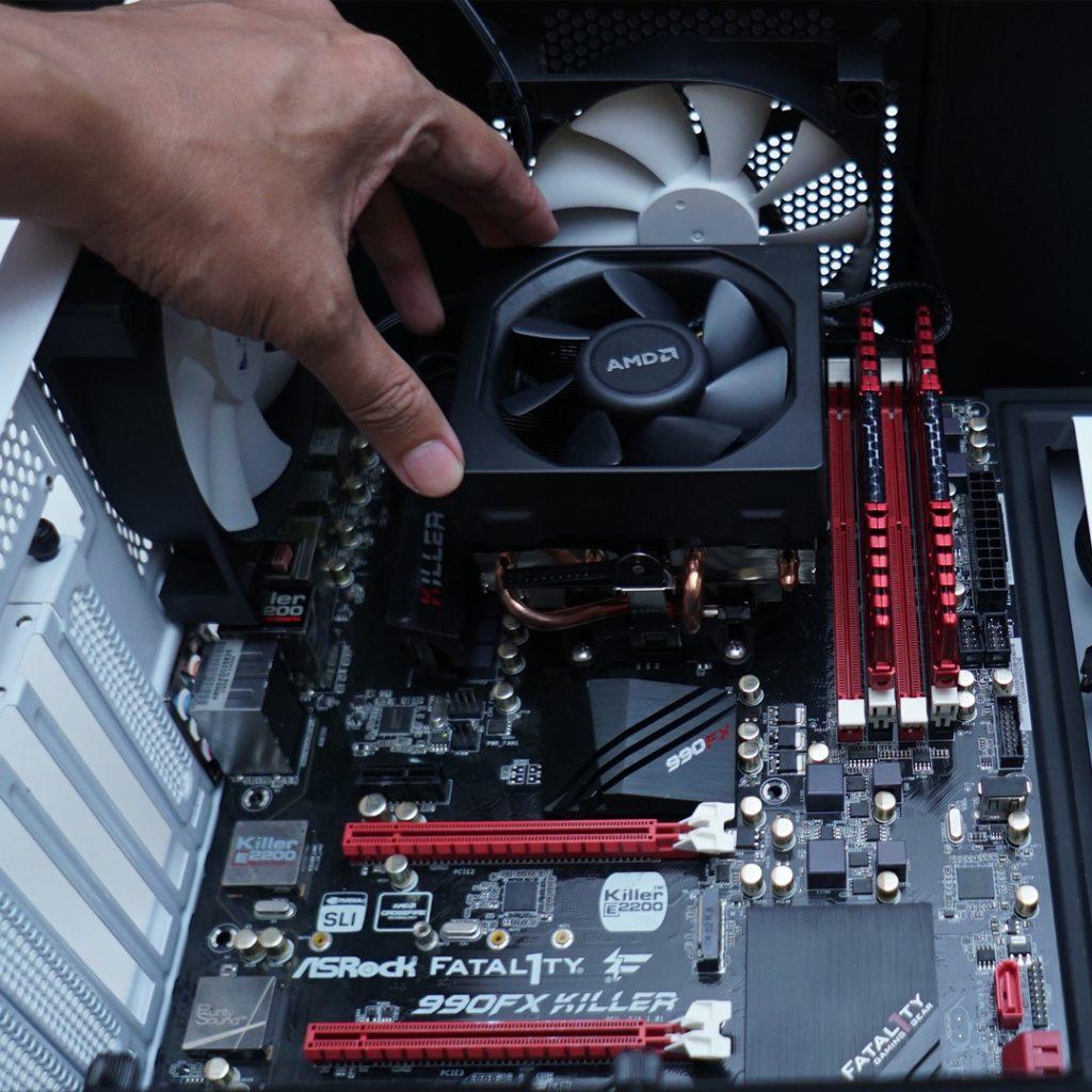 cara merakit komputer sendiri dengan benar
