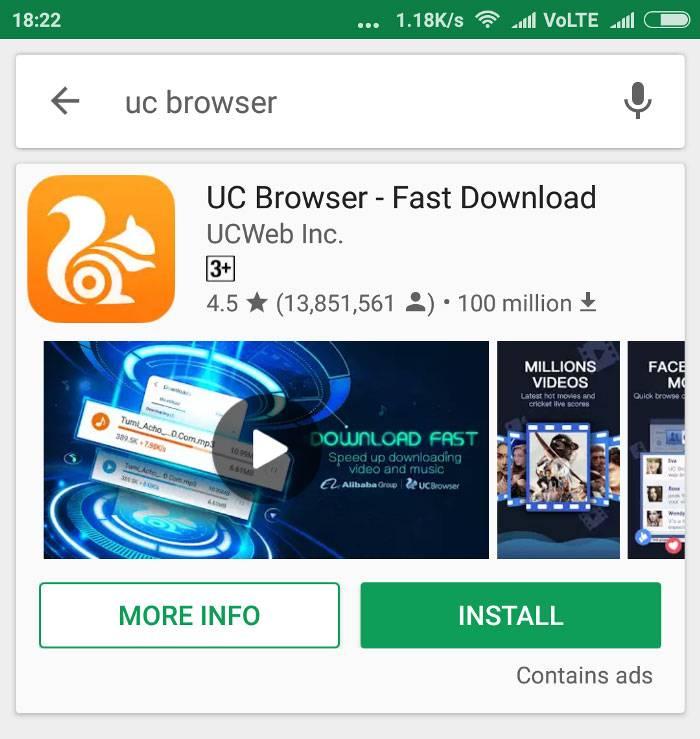 aplikasi untuk browsing di android