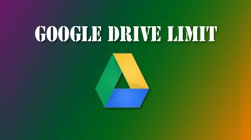 limit google drive