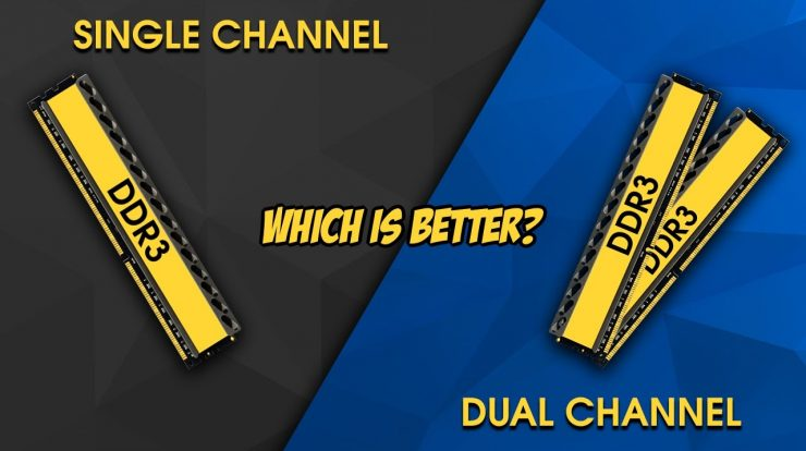 perbedaan ram single channel dan dual channel