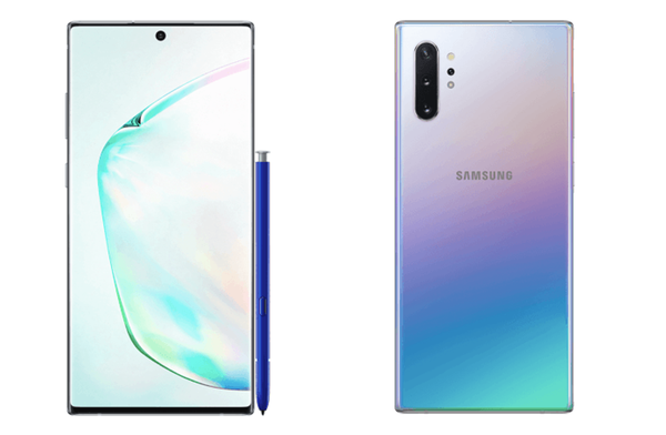 1.Samsung Galaxy Note 10