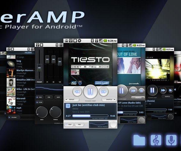 7.PowerAmp Music Player